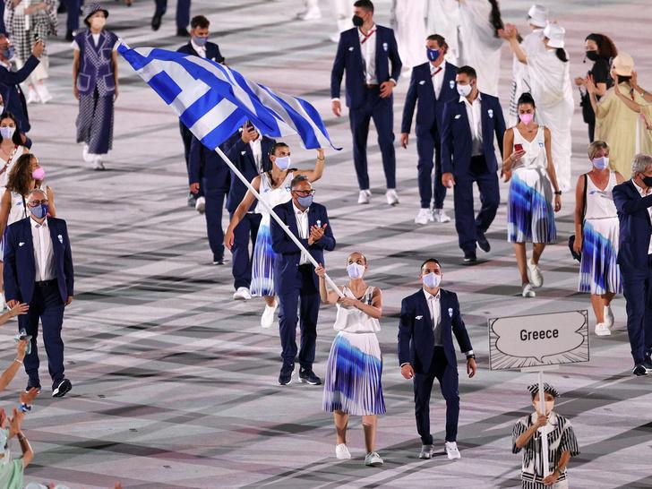Фото №8 - Как прошло открытие Олимпиады в Токио: самые яркие кадры