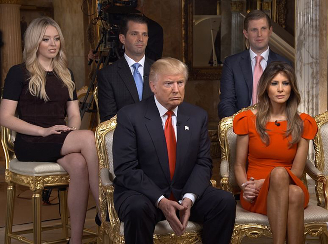 Фото №2 - Дональд Трамп познакомит Королеву со своей большой семьей