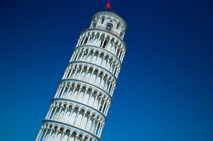 Фото №1 - Почему Пизанская башня не падает