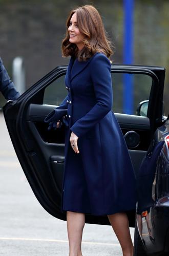 Фото №2 - К работе после праздников: первый визит герцогини Кэтрин в 2018 году