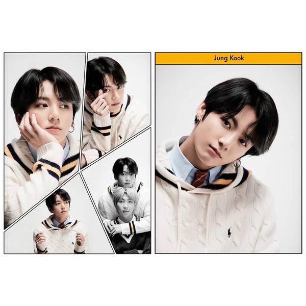 Фото №5 - RM из Слизерина, Джин из Гриффиндора: новые фотографии BTS для «Map Of The Soul: 7»