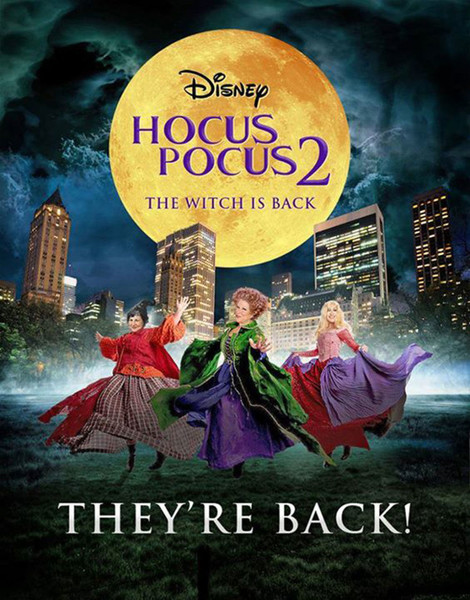 Фото №1 - Disney готовит сиквел «Фокуса-покуса»?
