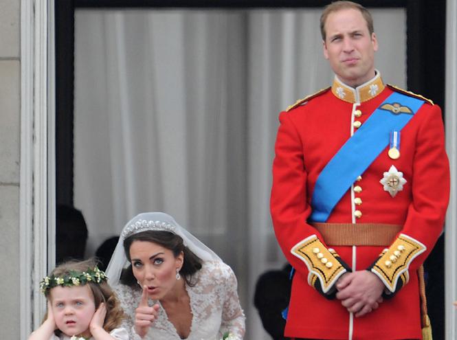 Фото №12 - Самые забавные моменты на королевских свадьбах (истории в фотографиях)