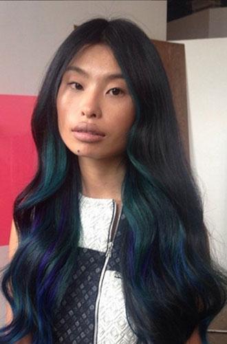 Фото №5 - Бьюти-тренд: разноцветные волосы