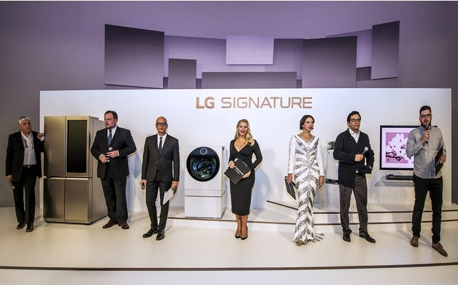 Фото №1 - Новый бренд LG Signature для эстетов