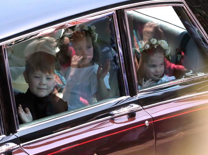 Фото №6 - Подружки и пажи королевских кровей на свадьбах: от принца Джорджа до юной Лилибет