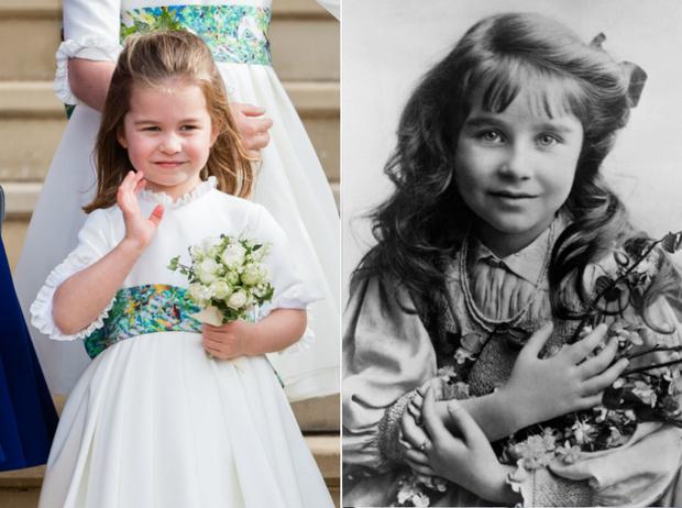 Фото №1 - На кого все больше становится похожа принцесса Шарлотта (это вовсе не Елизавета II)