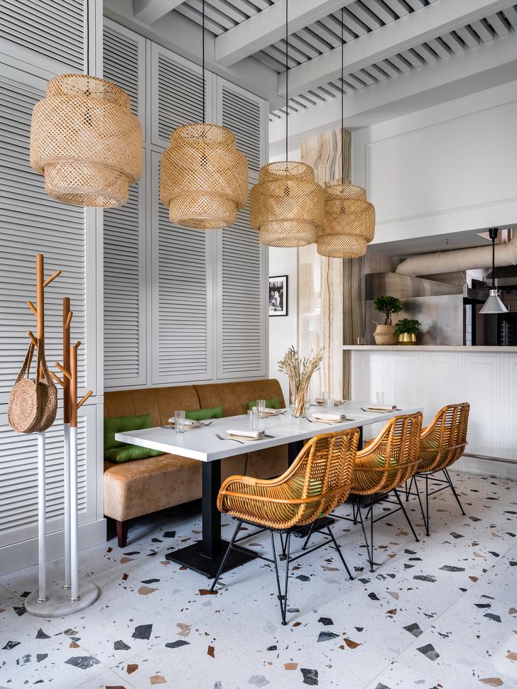 Фото №4 - Уютное кафе в средиземноморском стиле в Москве