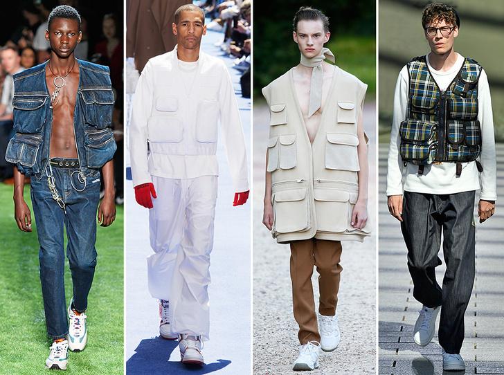 Фото №3 - 11 трендов c Недель мужской моды SS19, которые пригодятся не только мужчинам