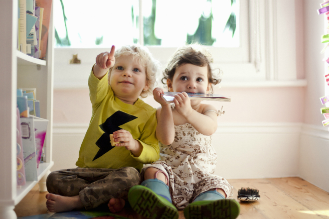 Фото №1 - Как обустроить маленькую комнату для двоих детей