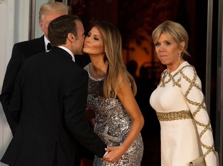 Фото №10 - Как Трамп Макрона принимал: самые яркие детали госвизита французской Первой пары в США