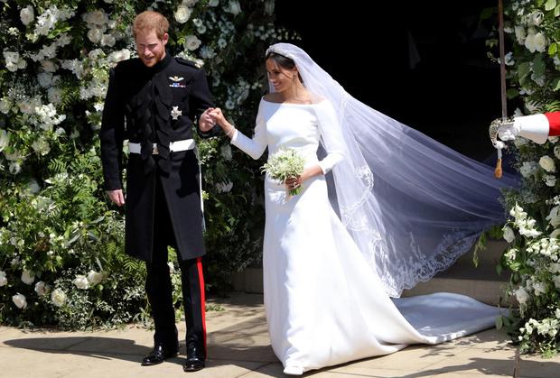 Свадебное платье Меган Маркл от Givenchy.