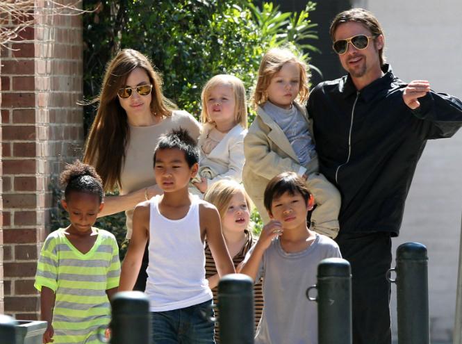 Фото №4 - 13 советов по воспитанию детей от Анджелины Джоли и Брэда Питта