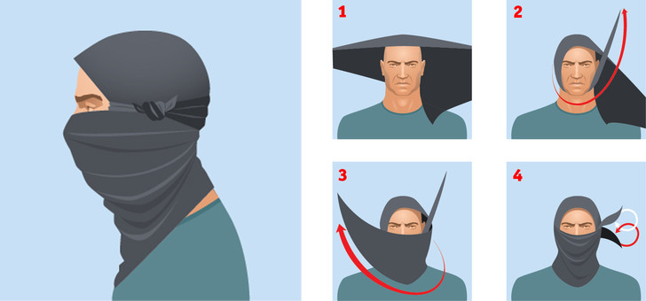 Фото №1 - Как повязывать и носить шемаг (4 способа)