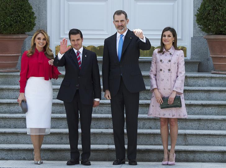 Фото №7 - Королева Летиция нарушила протокол ради первой леди Мексики