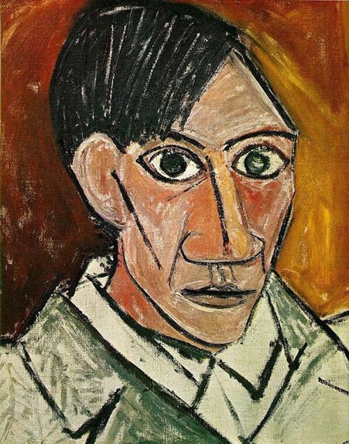 Фото №6 - 14 автопортретов Пабло Пикассо: от 15 до 90 лет