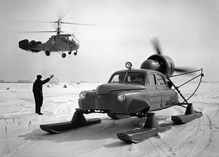 Фото №1 - То ли лыжи не едут… Как провалились советские аэросани «Север-2»