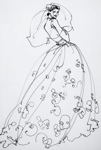 Фото №3 - Свадебное платье Dior на заказ
