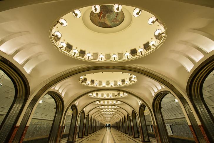 Фото №2 - Небесные своды Московского метро