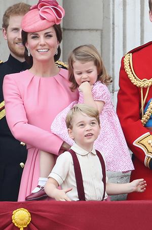 Фото №3 - Трогательные фото детей герцогини Кембриджской на празднике Trooping The Colour