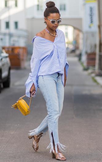 Фото №6 - Базовый гардероб: одна рубашка— 5 образов на любой случай
