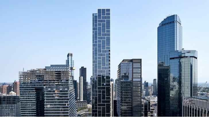Фото №1 - Небоскреб 11,5 метров шириной в Мельбурне