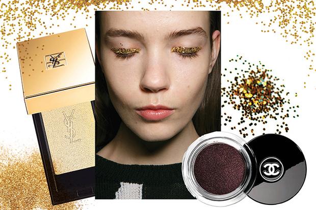Фото №8 - 6 способов использовать глиттер в новогоднем макияже