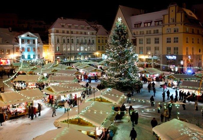 Фото №1 - Место дня. Рождественский рынок в Таллине (Эстония)
