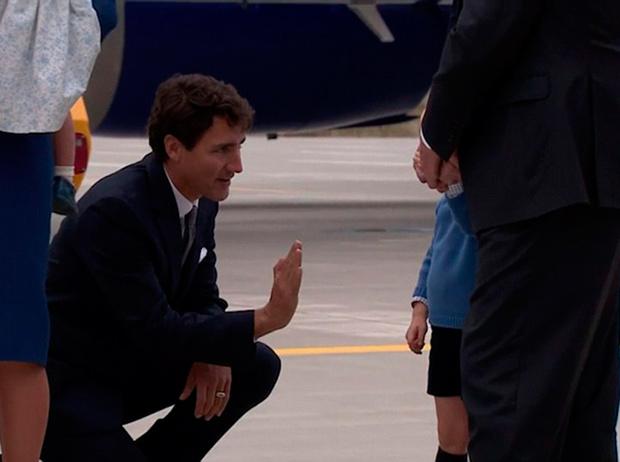 Фото №3 - Принц Джордж проигнорировал канадского Премьера