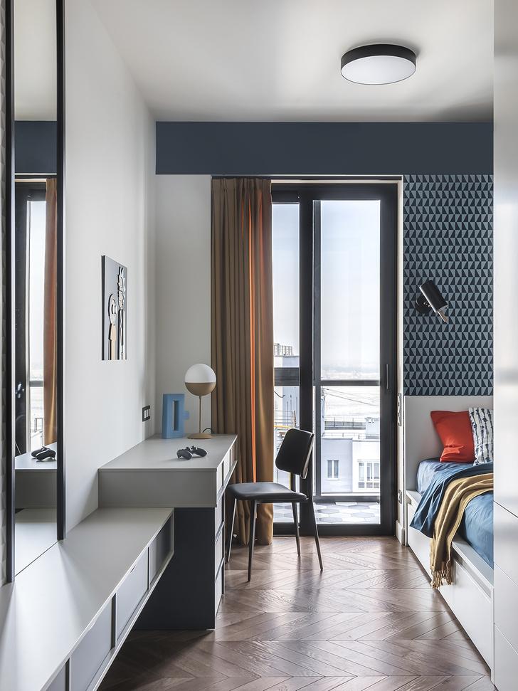 Фото №9 - Серо-голубая квартира в Самаре