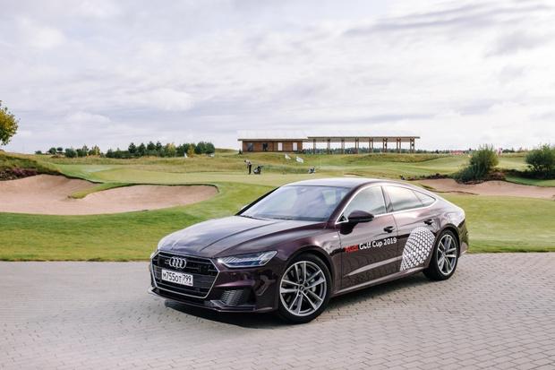 Фото №2 - Audi Golf Cup 2019: турнир и презентация новой Audi
