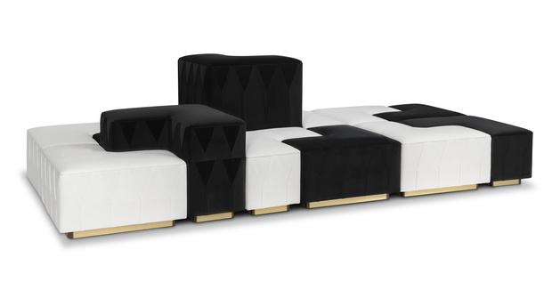 Фото №1 - Yin Yang: диван по дизайну Акселя Хюнха для Munna
