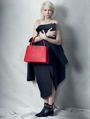 Фото №2 - Мишель Уилльямс в новой рекламной кампании Louis Vuitton