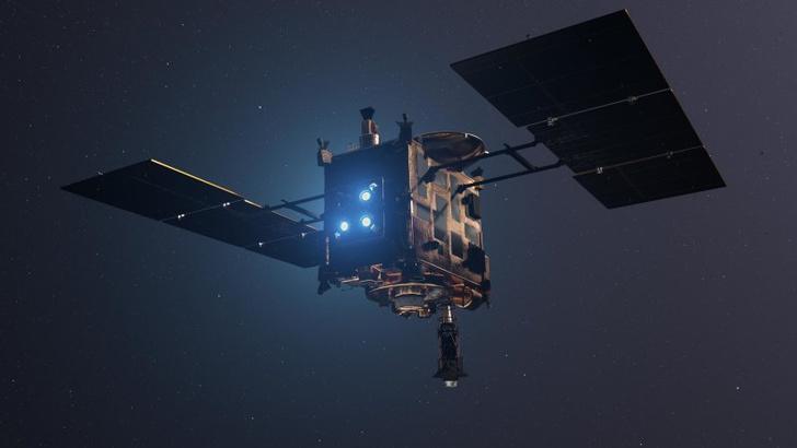 Фото №1 - Образцы с астероида Рюгу скоро будут доставлены на Землю