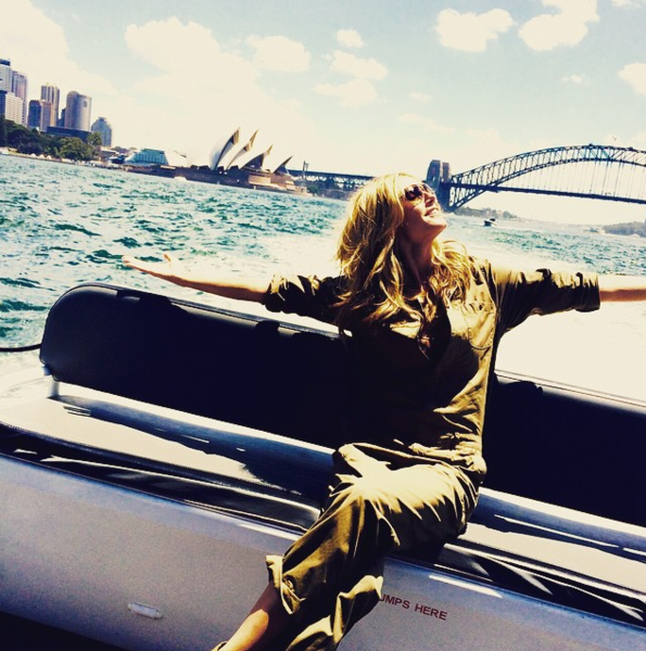 Фото №14 - Звездный Instagram: Знаменитости путешествуют