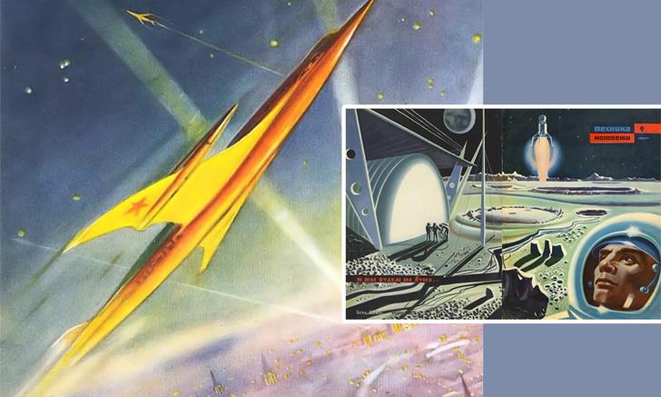 Фото №1 - Ретрофутуризм в советских журналах (39 увлекательных картинок)