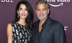 Мне повезло с партнером: Джордж и Амаль Клуни вышли в свет впервые за три года