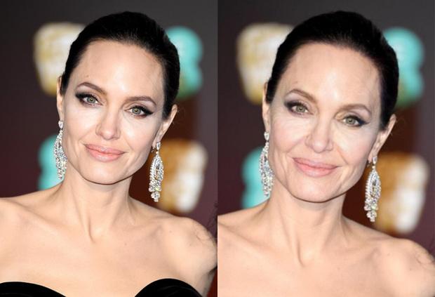 Фото №1 - Какими будут Джоли, Хадид и еще 50 звезд в старости