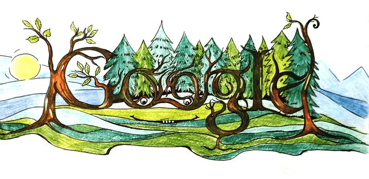 Фото №6 - «Дудл для Google — 2015»: 30 лучших рисунков