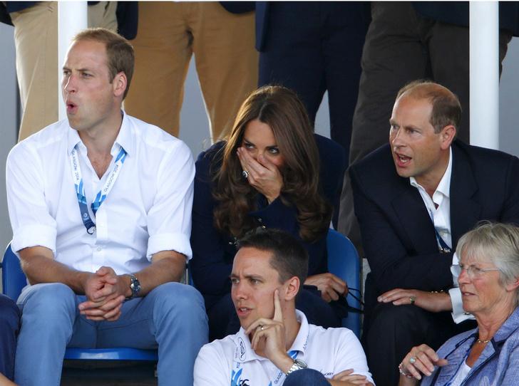 Фото №2 - Принцы-соперники: что не поделили Уильям и его дядя Эдвард