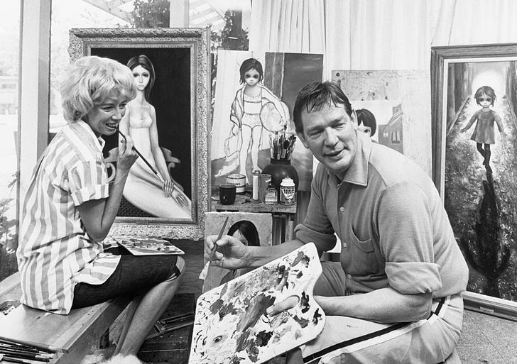 Фото №2 - История одной фотографии: Маргарет Кин доказывает авторство своих картин, 1970 год