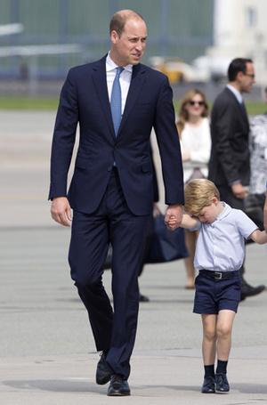 Фото №6 - Мама, ну идем же: принцессе Шарлотте не терпелось покинуть Польшу