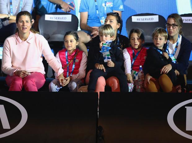 Фото №3 - Сын за отца: дети знаменитых спортсменов (и кем они хотят стать в будущем)