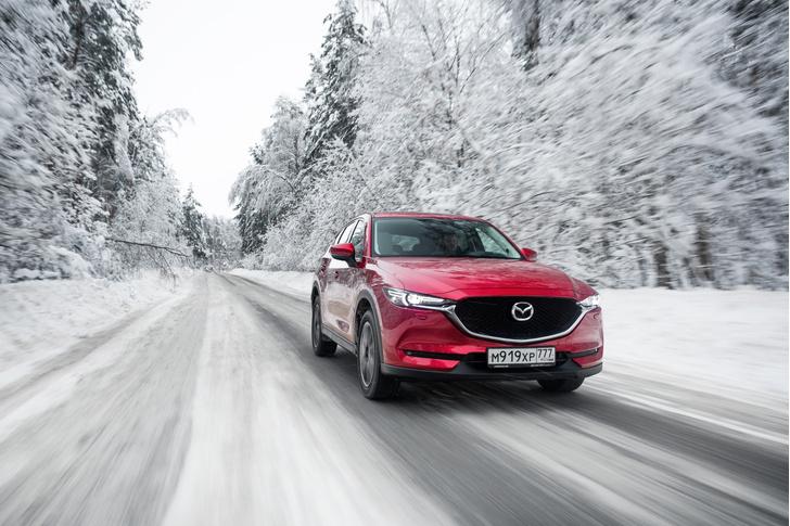 Фото №2 - Остаемся зимовать: Mazda CX-5 получила теплые опции