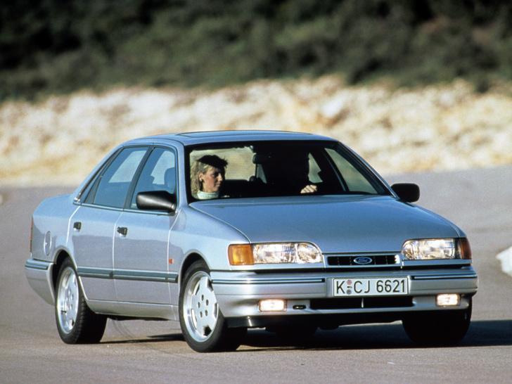 Первый Ford Scorpio вполне можно назвать удачной моделью…