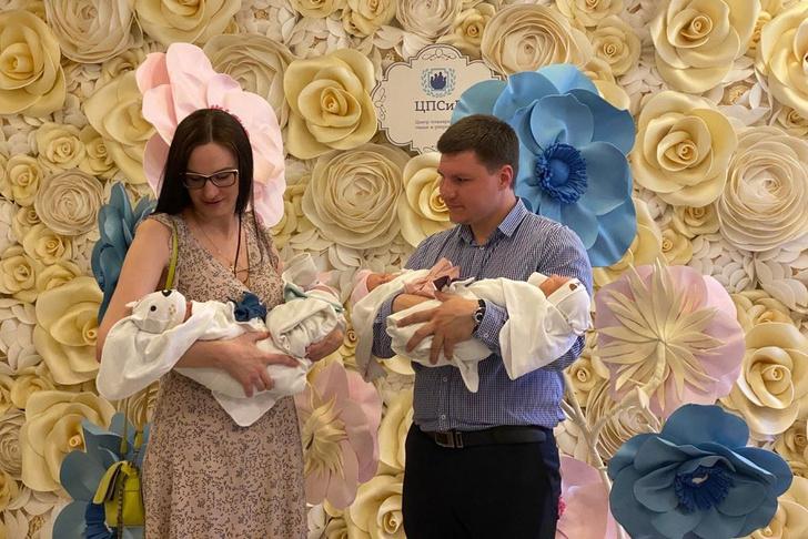 В московском роддоме появились на свет четверняшки