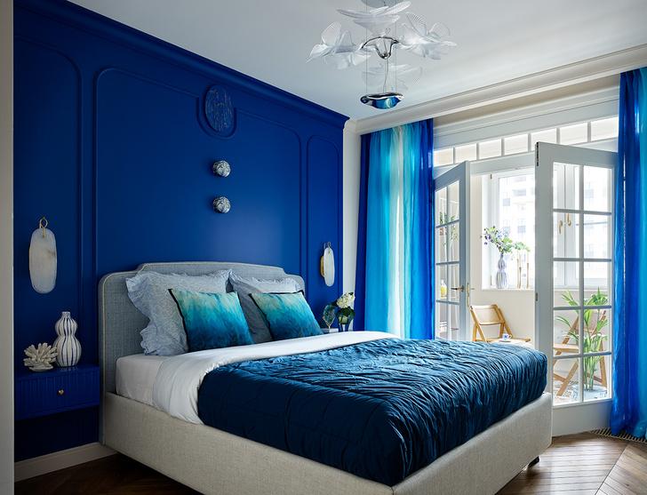 Фото №4 - Трехкомнатная квартира в оттенках синего цвета