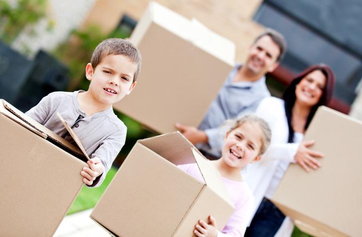 Фото №1 - Частые переезды негативно влияют на детей