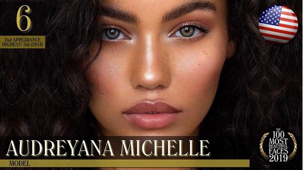 Фото №95 - Международный рейтинг: 100 самых красивых женских лиц 2019 года