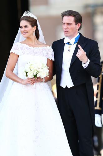 Фото №42 - Самые забавные моменты на королевских свадьбах (истории в фотографиях)